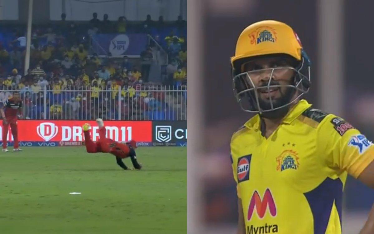 Cricket Image for VIDEO: विराट कोहली बने सुपरमैन, कैच पकड़कर उड़ाए गायकवाड़ के होश