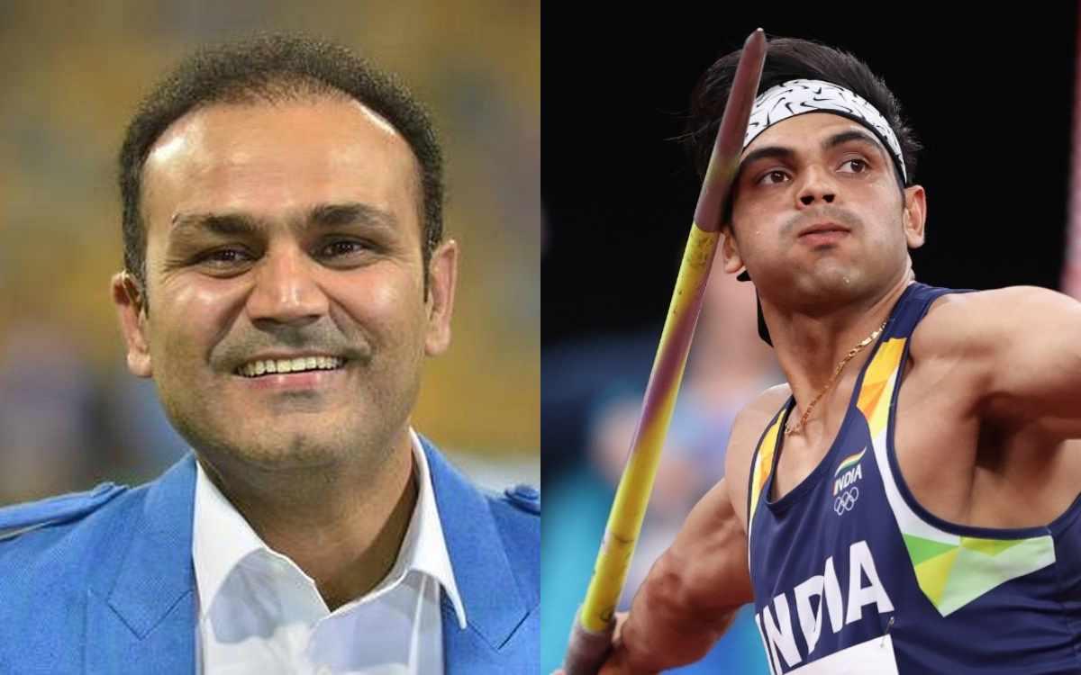 Virender Sehwag becomes Neeraj Chopra's fan of says Kya Faketa Hai Yaar
