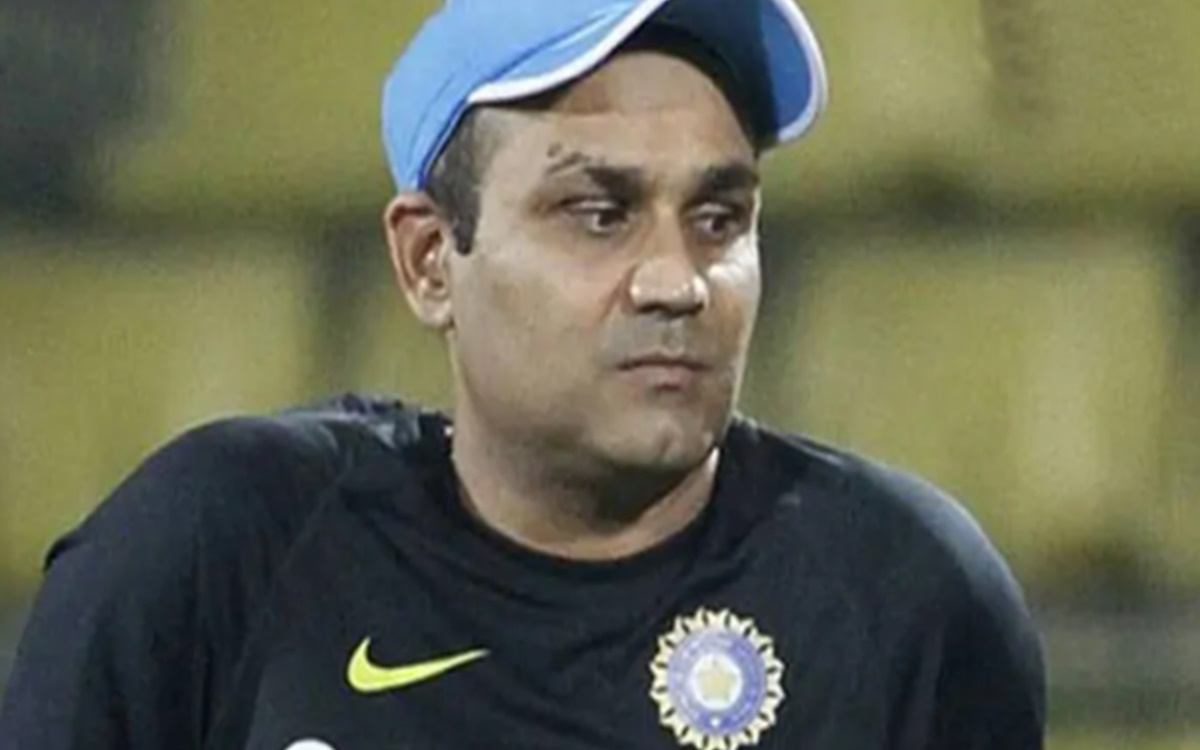 Cricket Image for Virender Sehwag Names The Best Indian Captain With Solid Reason