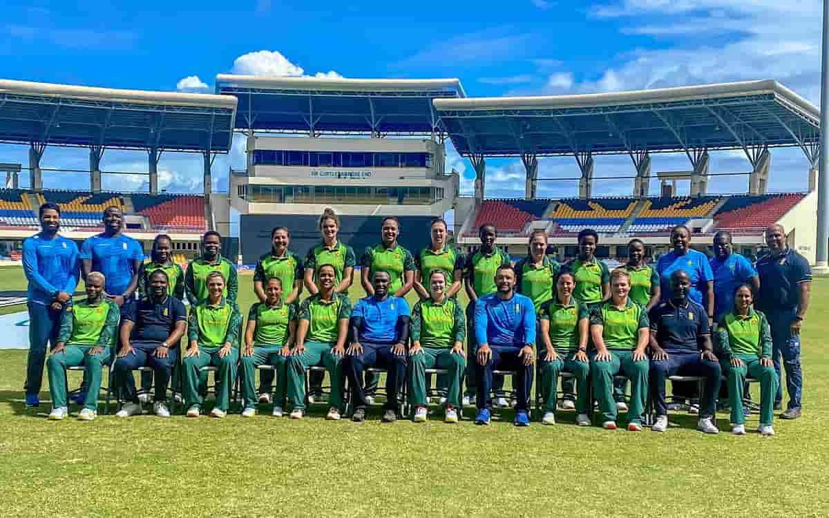 West Indies won the last ODI in the super over while South Africa women's team captured the series by 4-1