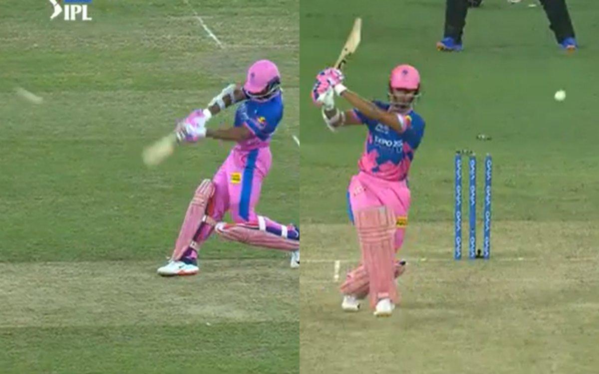 Cricket Image for जायसवाल vs संदीप : यशस्वी से छक्का खाने के बाद कुछ ऐसे लिया संदीप ने बदला