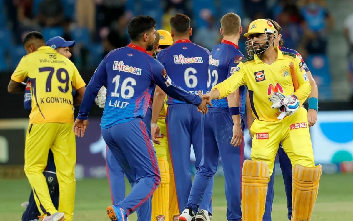 Cricket Image for IPL 2021: ਚੇਨਈ ਸੁਪਰ ਕਿੰਗਜ਼ ਨੇ ਰੋਮਾਂਚਕ ਮੈਚ ਵਿੱਚ ਦਿੱਲੀ ਕੈਪੀਟਲਜ਼ ਨੂੰ 4 ਵਿਕਟਾਂ ਨਾਲ ਹਰਾ