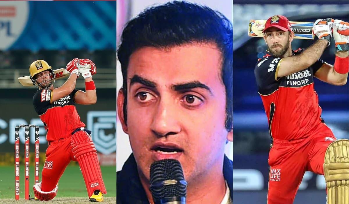IPL 2022 Gambhir answers whether RCB should retain Kohli, Maxwell gives verdict on ABD
