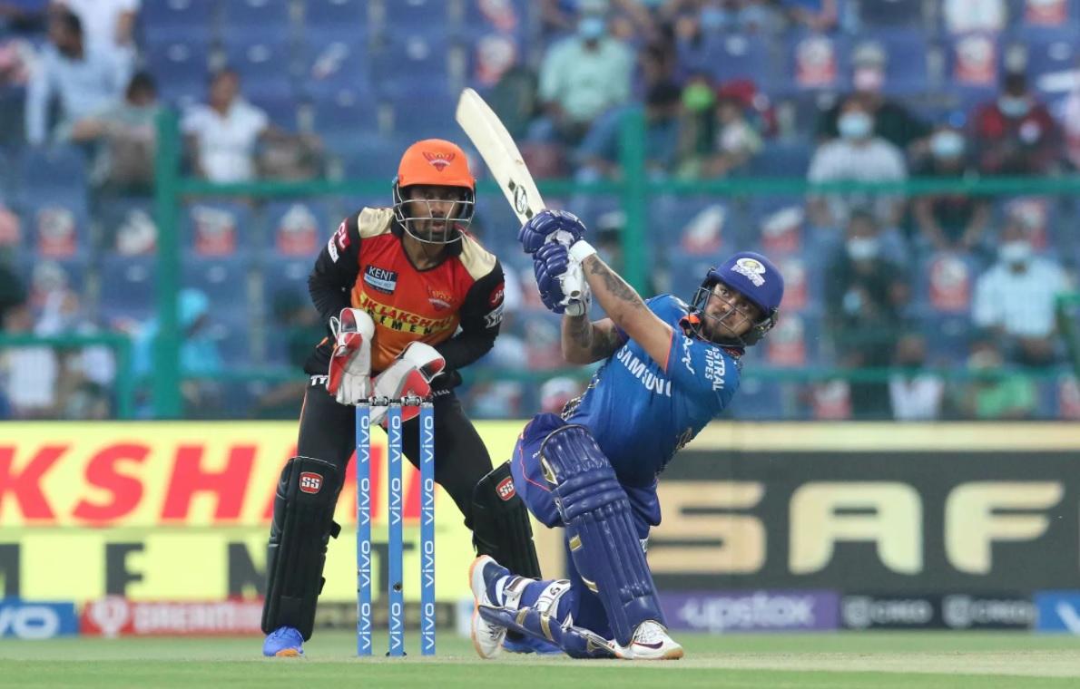 Mumbai Indians set 236 Runs target for srh in 55th match of ipl 2021