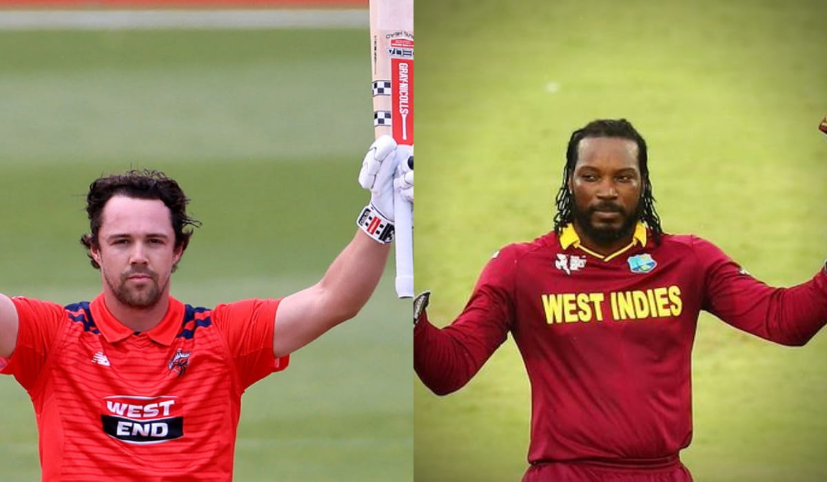 Travis Head makes record of fastest double hundred, surpasses chris Gayle
