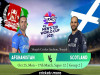 Cricket Image for Afghanistan vs Scotland, T20 World Cup – Cricket Match Prediction, Fantasy XI Tips