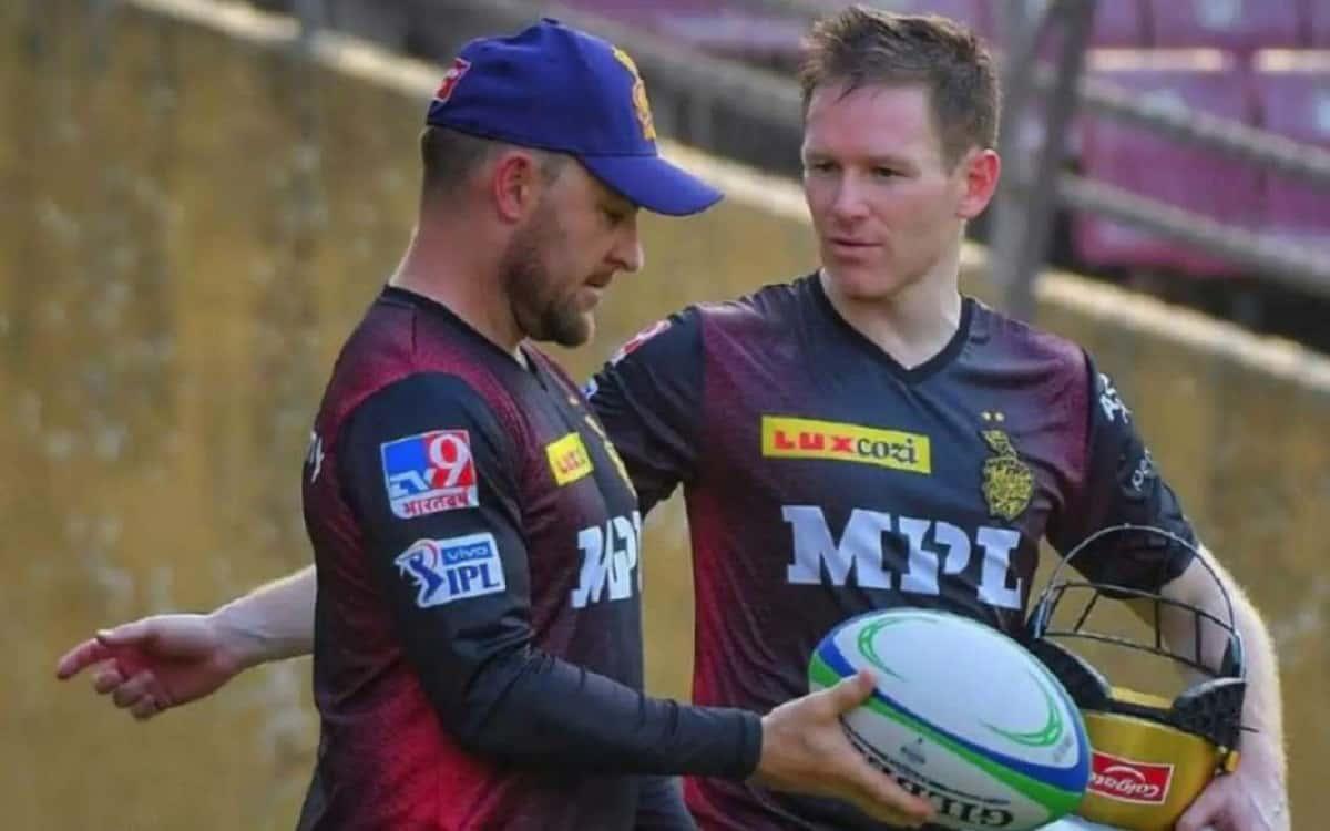 Cricket Image for IPL 2021: पार्ट-1 में केकेआर के लिए मैकुलम का मंत्र रहा फेल, मोर्गन ने बताया कैसे