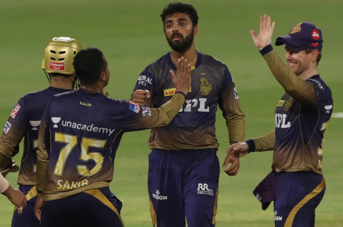 IPL 2021: KKR restrict Delhi Capitals by 135 runs