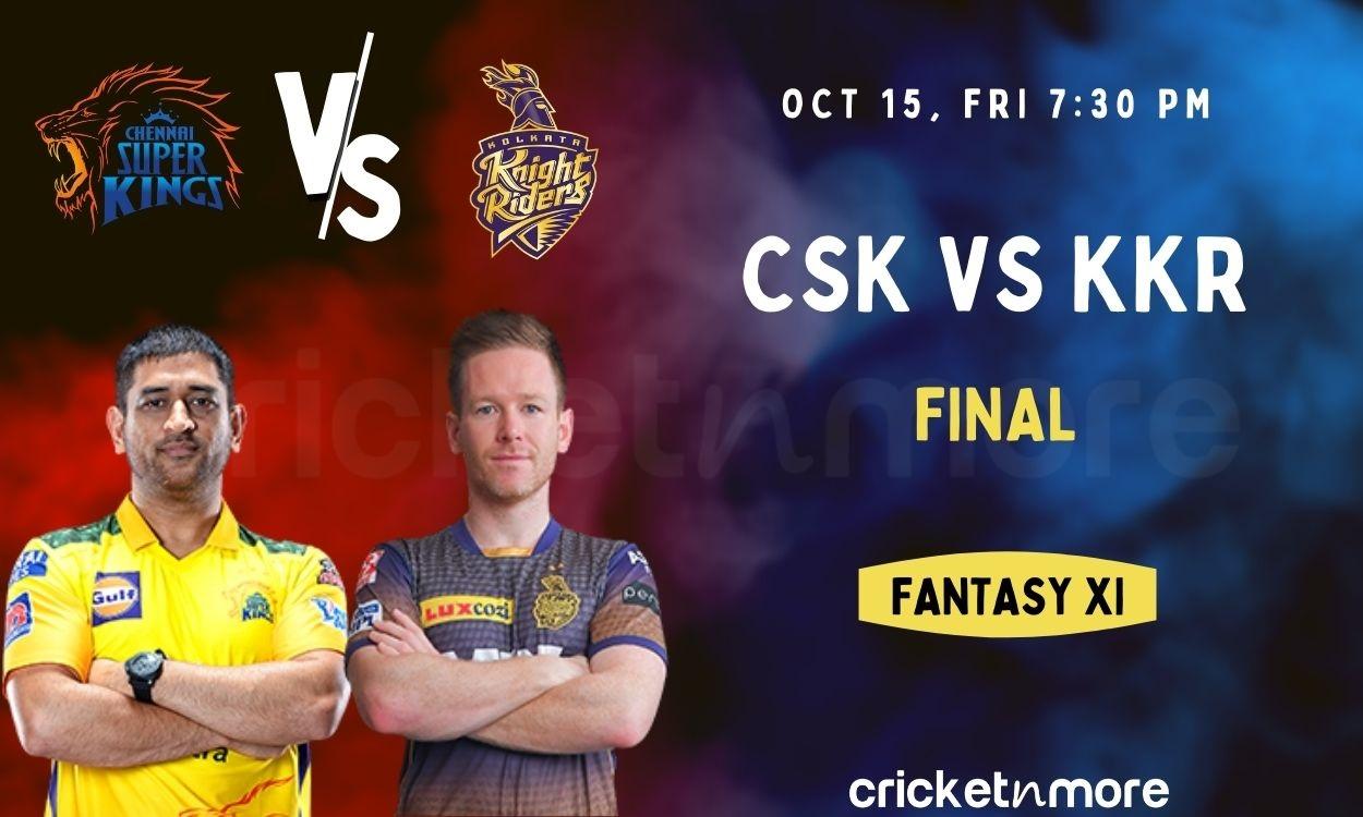 Cricket Image for Chennai Super Kings vs Kolkata Knight Riders, Final – IPL Match Prediction, Fantas