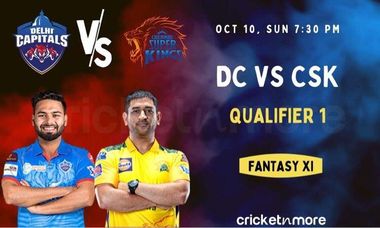 Cricket Image for Delhi Capitals vs Chennai Super Kings: IPL Qualifier 1 Match Prediction, Fantasy X