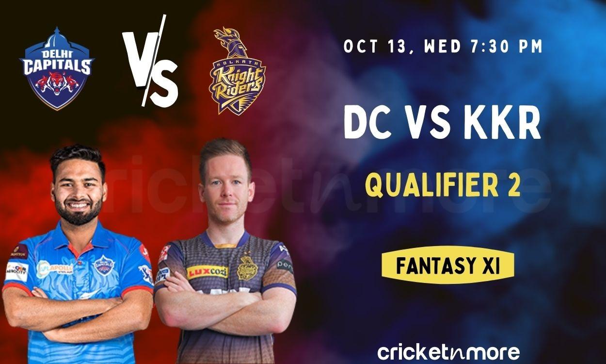 Cricket Image for Delhi Capitals vs Kolkata Knight Riders, Qualifier 2 – IPL Match Prediction, Fanta