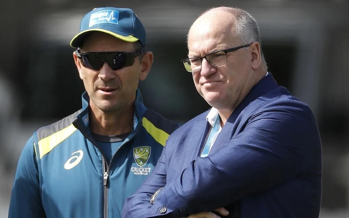 Cricket Image for Earl Eddings Steps Down As Cricket Australia Chairman