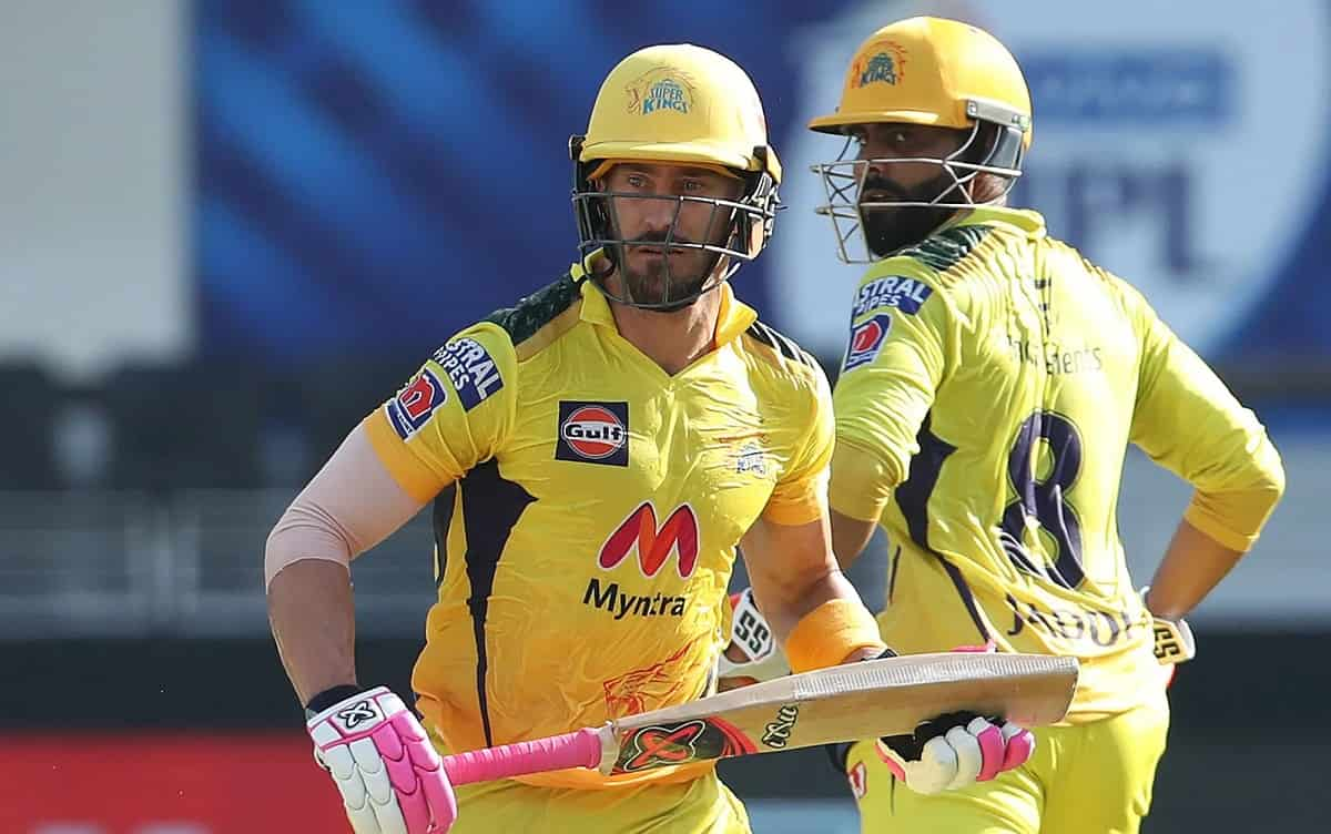 Du Plessis's half-century took Chennai to a respectable score, gave Punjab a target of 135 runs