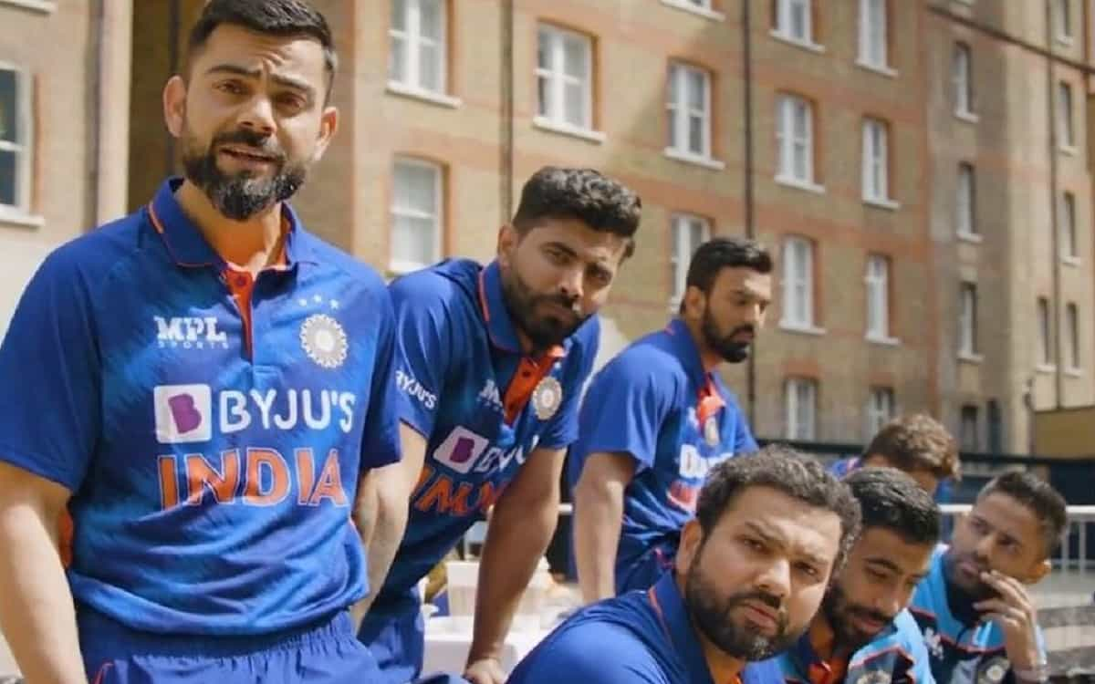 India's new jersey launched for T20 World Cup while captain virat Kohli reacted to the design