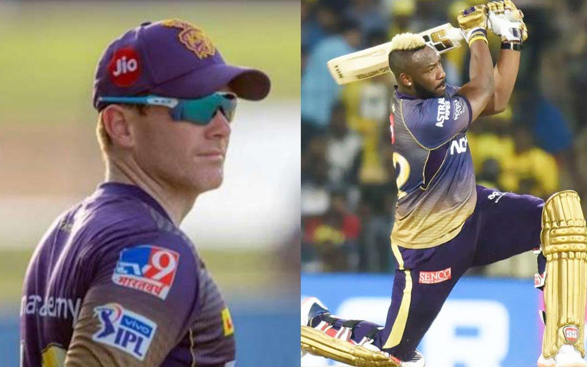 Cricket Image for IPL 2021 : क्या मोर्गन दिखाएंगे बड़ा 'ज़िगरा'? रसल के लिए खुद को करेंगे बाहर!