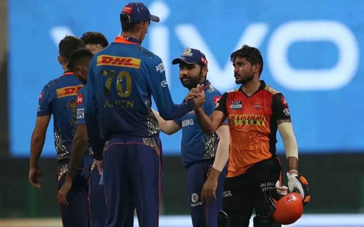 Cricket Image for IPL 2021: ਜਿੱਤ ਨਾਲ ਪਲੇਆਫ ਦੀ ਦੌੜ ਤੋਂ ਬਾਹਰ ਮੁੰਬਈ ਇੰਡੀਅਨਜ਼, ਕੇਕੇਆਰ ਆਖਰੀ 4 ਵਿੱਚ ਪਹੁੰਚੀ