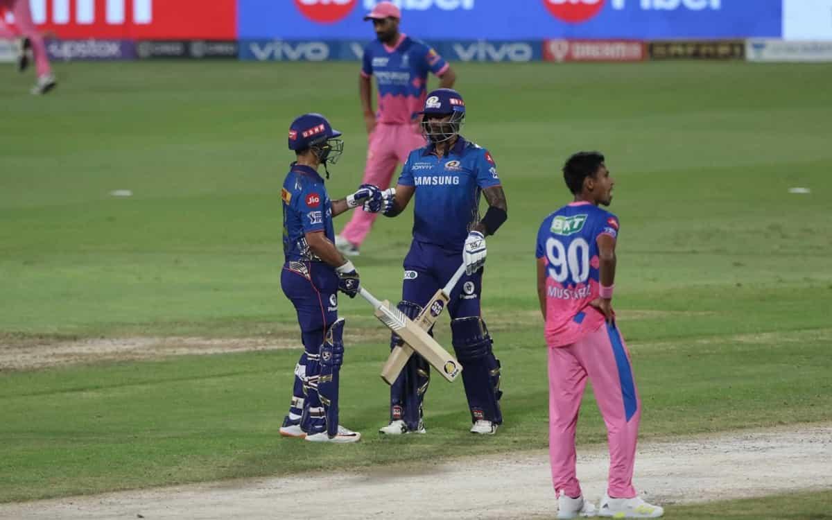 Cricket Image for IPL 2021: ਰਾਜਸਥਾਨ ਨੂੰ ਮੁੰਬਈ ਇੰਡੀਅਨਜ਼ ਹੱਥੋਂ ਮਿਲੀ 8 ਵਿਕਟਾਂ ਨਾਲ ਹਾਰ, ਪਲੇਆਫ ਦੀ ਲੜਾਈ ਹੋ