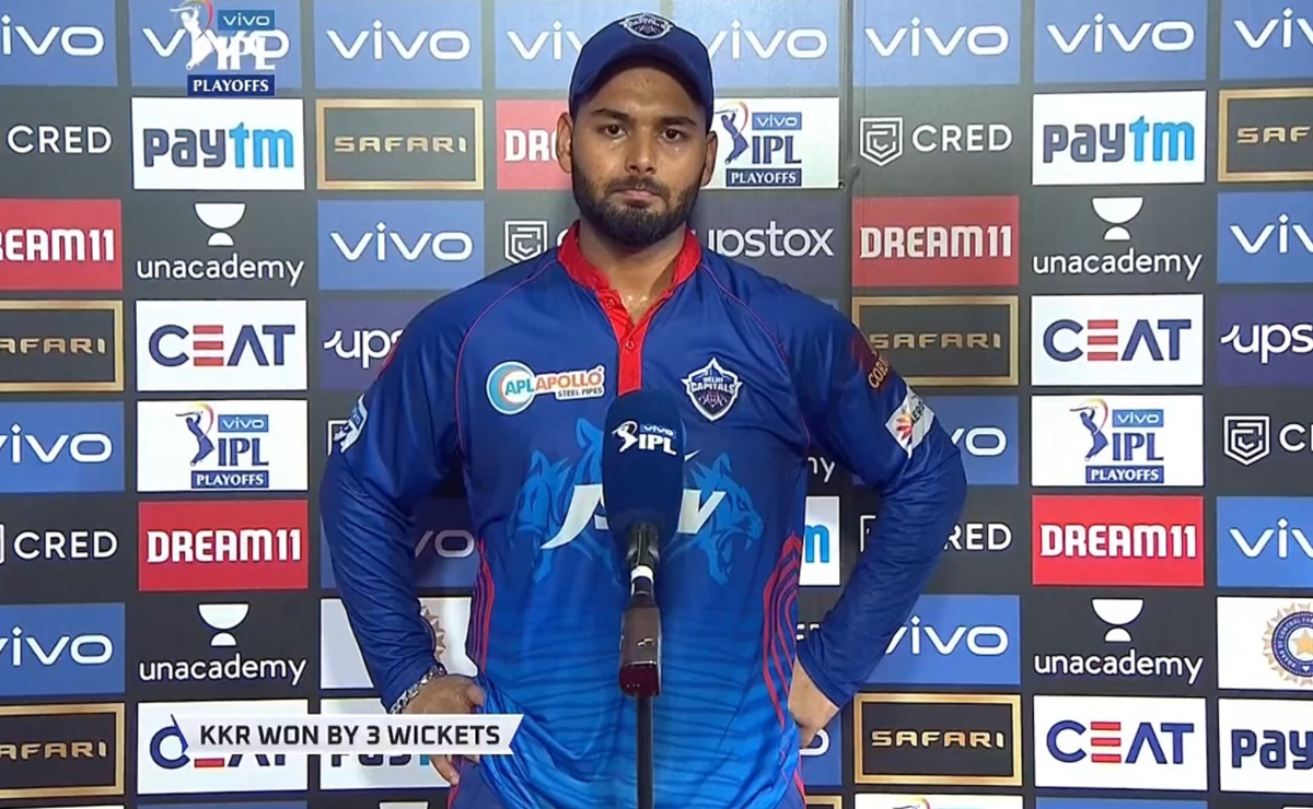 Cricket Image for Rishabh Pant Devastated After The Loss Against Kkr Watch Video