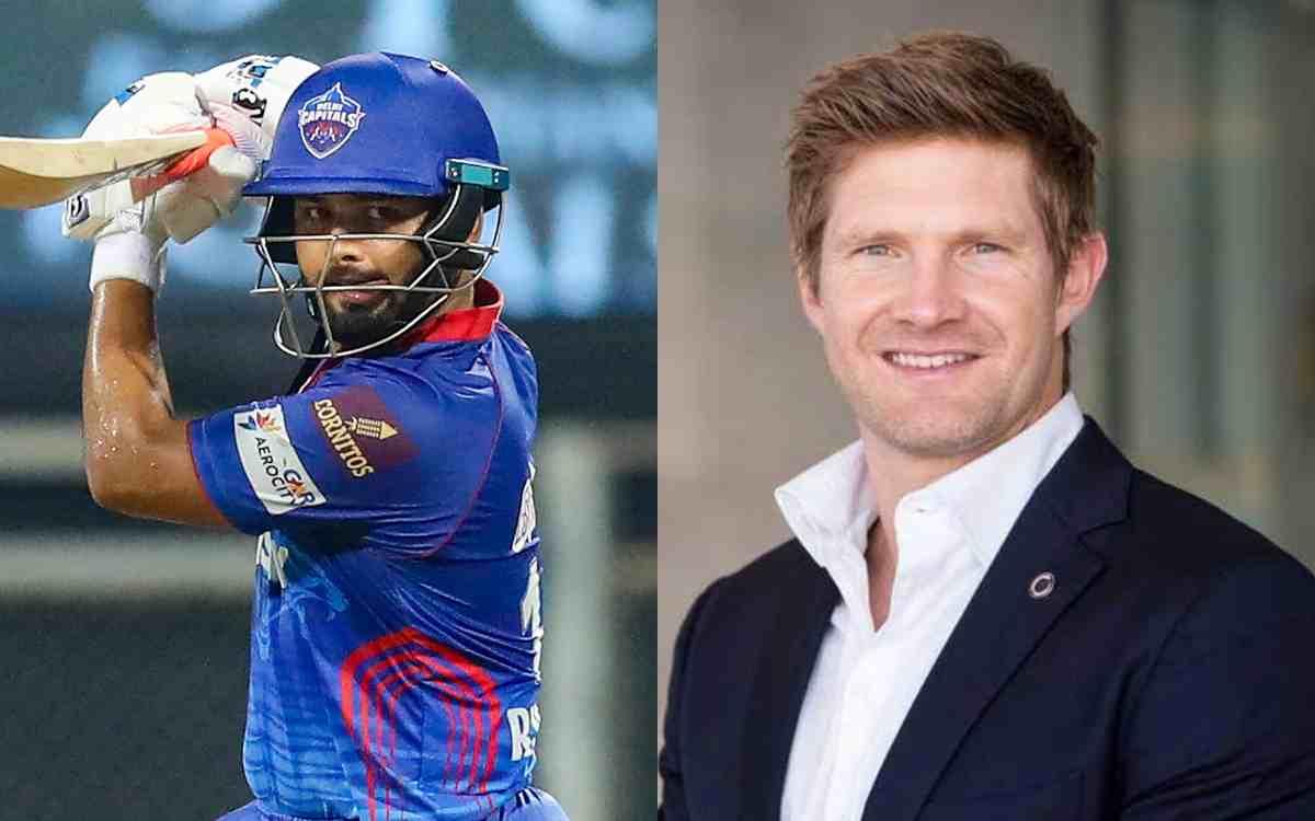 Cricket Image for IPL 2021: 'पंत स्वतंत्र होकर खेलें', केकेआर के खिलाफ मैच से पहले वॉटसन ने दी बड़ी