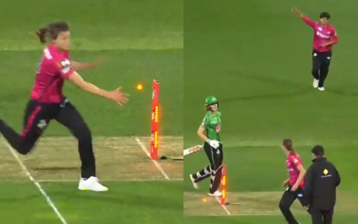 Cricket Image for VIDEO : 17 साल की शफाली ने फिर मचाया धमाल, BBL में रॉकेट थ्रो से किया रनआउट