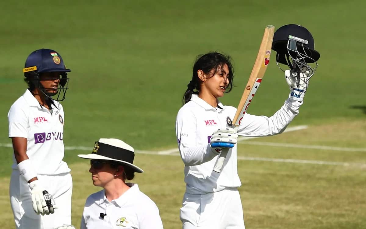 Smriti Mandhana created history by scoring a century against australia became the first Indian woman player to do so