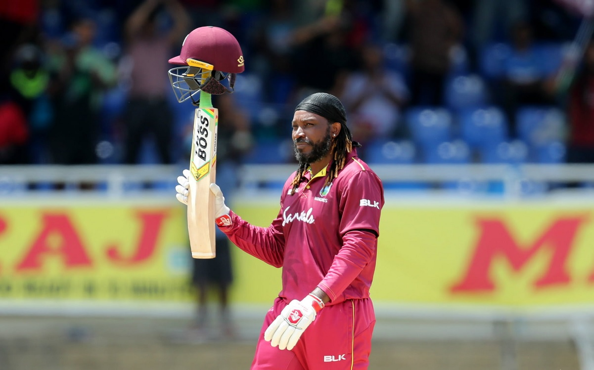Cricket Image for T20 Legend Chris Gayle Is Finding T20 World Getting Smaller With Time