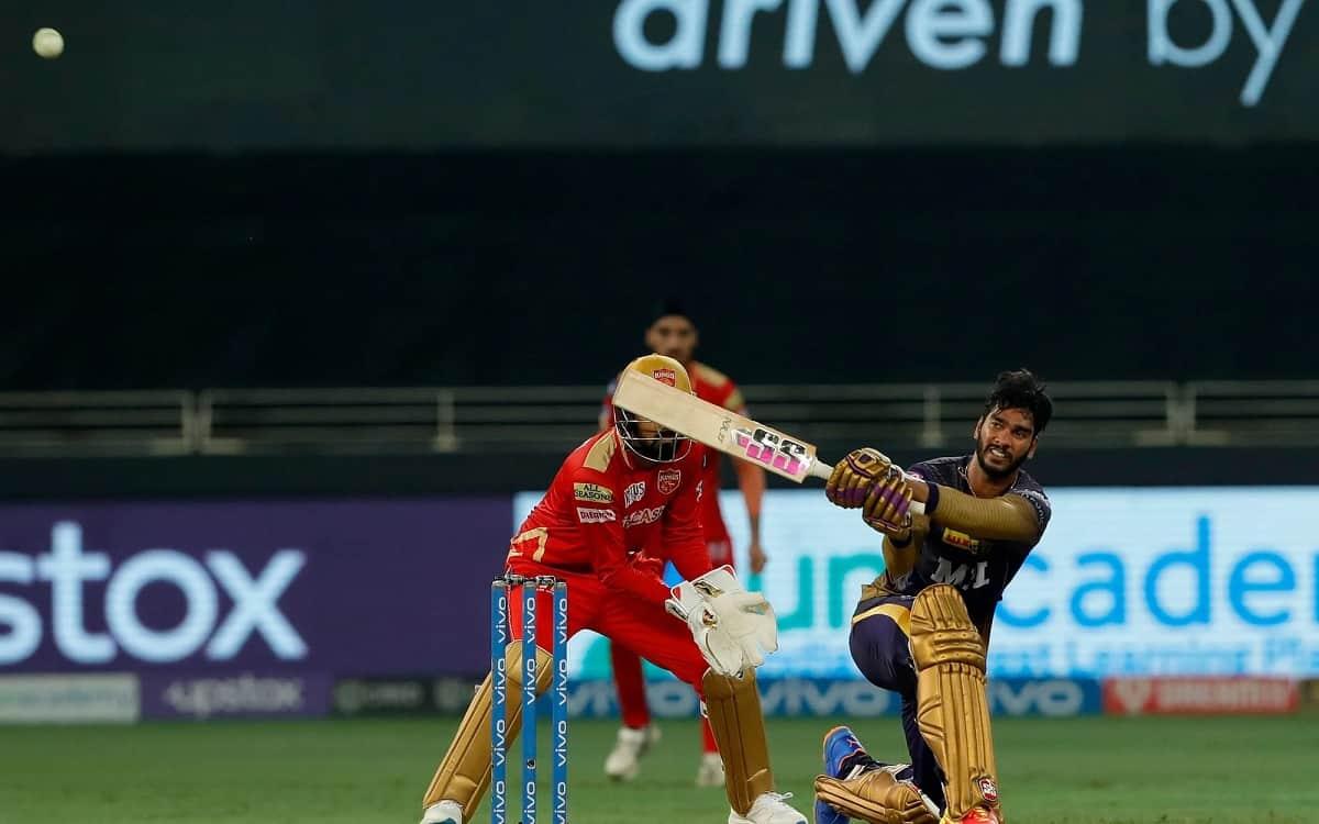 Kokakta Knight Riders set a target of 166 runs for Punjab kings while venkatesh iyer scored half century