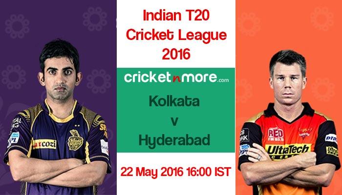 आईपीएल 2016: हैदराबाद के खिलाफ कोलकाता का 'करो या मरो' का मुकाबला