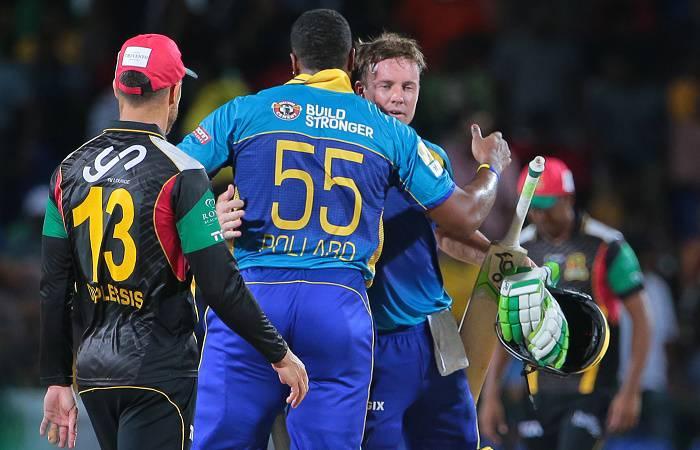 सीपीएल 2016: डी विलियर्स के धमाके से जीते बारबाडोस ट्राईडेंट्स
