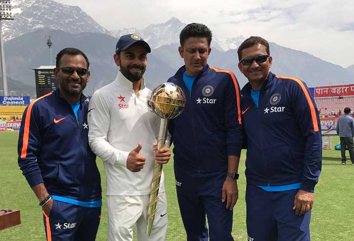 Image for BCCI congratulates team for Test series win, gives cash rewards