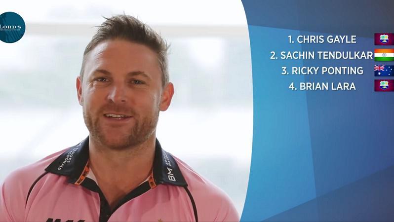 Brendon McCullum picks his All Time XI, Sachin Tendulkar only Indian cricketer who makes it