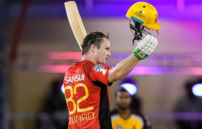 कॉलिन मन्रो का शतक बेकार,  गुयाना की 6 विकेट से धमाकेदार जीत