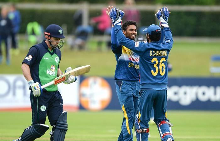 श्रीलंका ने आयरलैंड को 76 रन से हराया