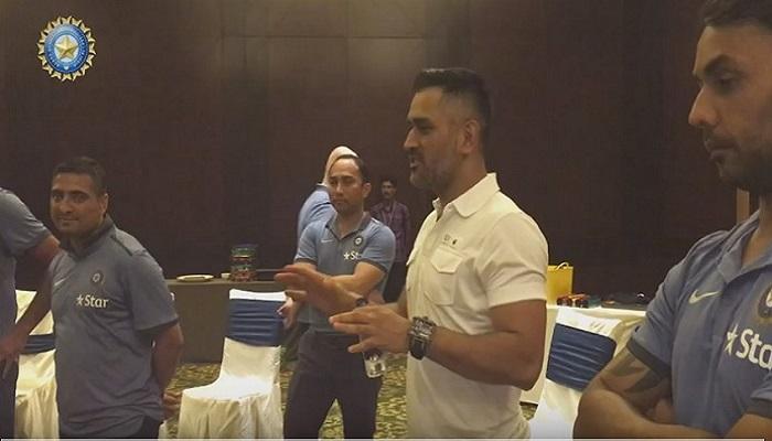 वेस्टइंडीज दौरे पर जाने वाली टीम इंडिया को धोनी का मिला साथ