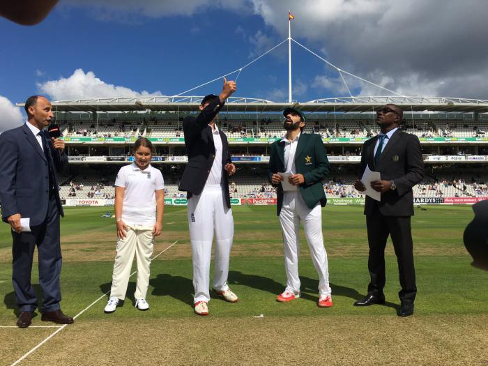 इंग्लैंड बनाम पाकिस्तान लॉर्ड्स टेस्ट लाइव स्कोर