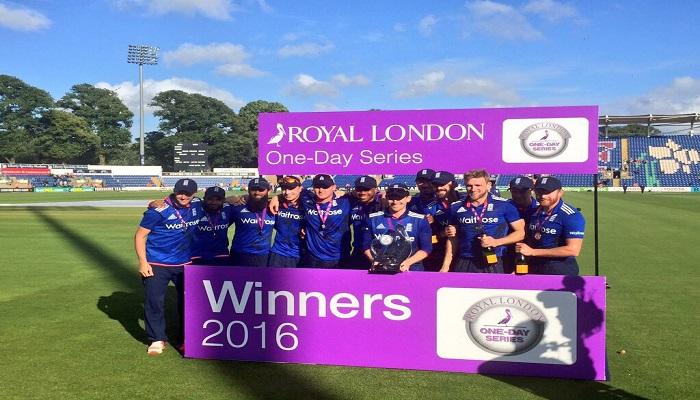 इंग्लैंड ने श्रीलंका को पांचवें वनडे में 122 रन से हराकर सीरीज पर 3- 0 से किया कब्
