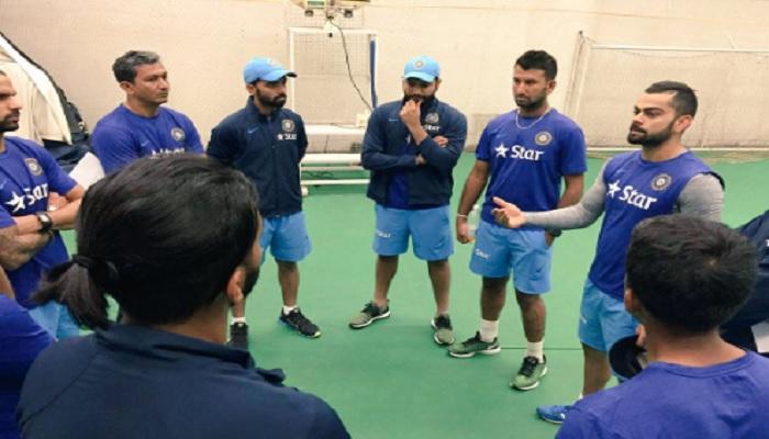 कप्तान कोहली ने वेस्टइंडीज के खिलाफ टेस्ट सीरीज से पहले अपने खिलाड़ियों को