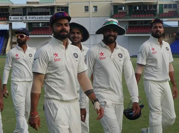 अभ्यास मैच में राहुल औऱ कोहली का कमाल, भारत 158 रन आगे