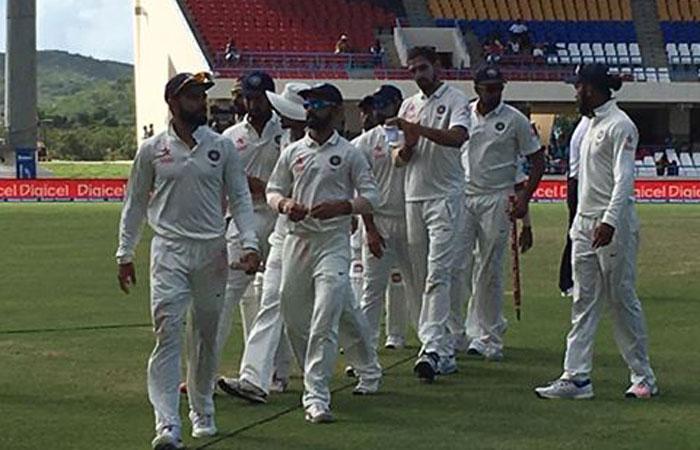 पहला टेस्ट: वेस्टइंडीज बनाम भारत