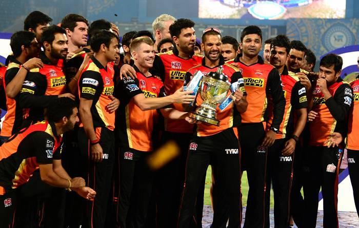 आईपीएल 2016: सनराइजर्स बना नया चैम्पियन