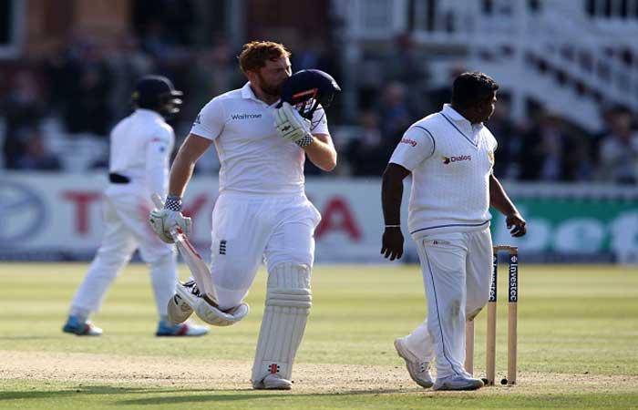 लार्ड्स टेस्ट में कुक और बेयरस्टो ने इंग्लैंड को संभाला