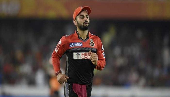 आरसीबी कप्तान कोहली पर 1 मैच के प्रतिबंध, जुर्माने की संभावना