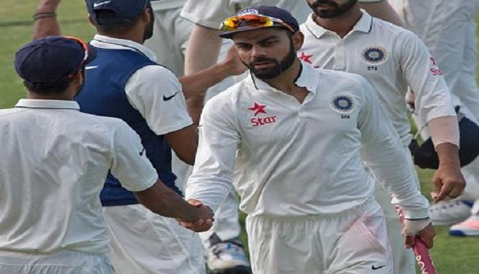 वेेस्टइंडीज के खिलाफ जीत के बाद कोहली ने पूरे क्रिकेट वर्ल्ड को दिया धमकी