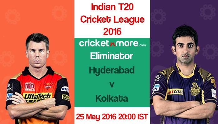 आईपीएल 2016 : हैदराबाद के खिलाफ कोलकाता का पलड़ा भारी