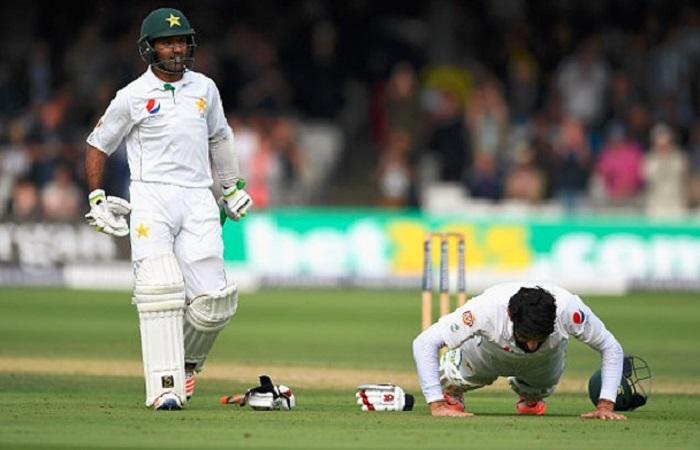 लॉर्ड्स टेस्ट: पहले दिन पाकिस्तान के 282/6, पूरा स्कोरकार्ड