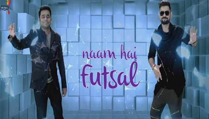 Images for Watch video Virat Kohli dances Ar Rahman premier futsal anthem lounch