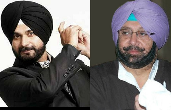 Amarinder Singh and Navjot Singh Sidhu share common love for cricket
