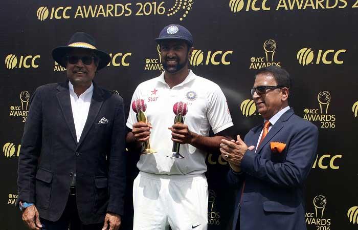 Ravichandran Ashwin receives Garfield Sobers Trophy