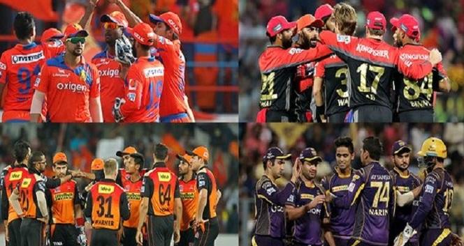 आईपीएल 2016: प्ले ऑफ में भिड़ेगी ये टीमें