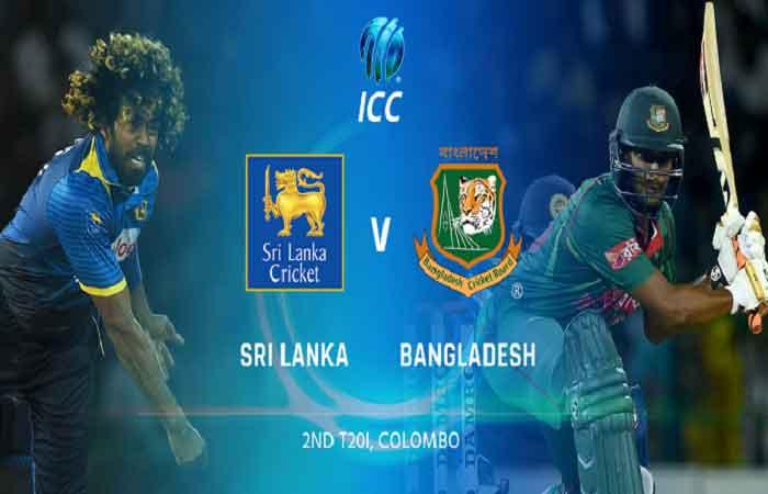 श्रीलंका बनाम बांग्लादेश, दूसरा टी-20